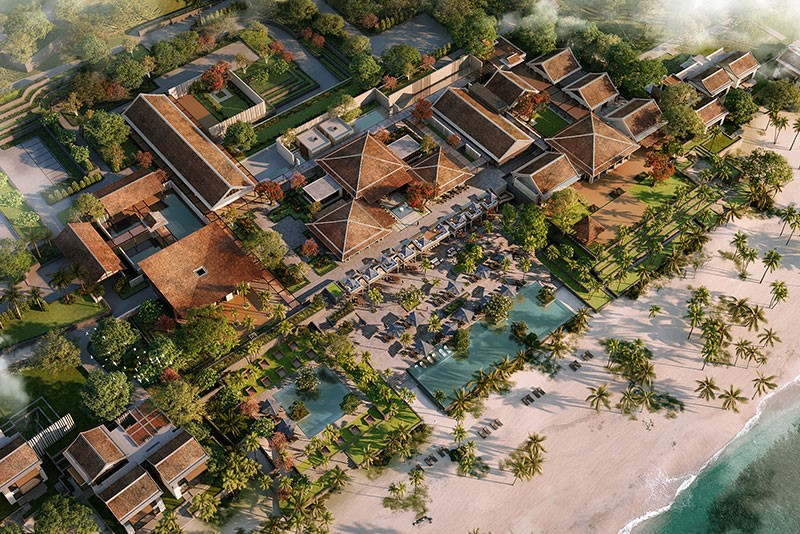 Phối cảnh Park Hyatt Phu Quoc Residences