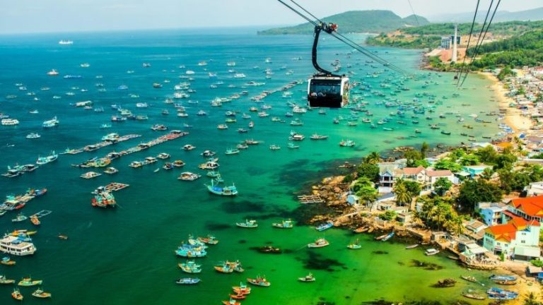 Cáp treo Hòn Thơm - Nam Phú Quốc